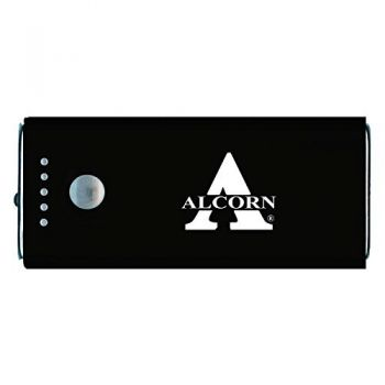 Alcorn State University -Portable Cell Phone 5200 mAh Power Bank Charger -Black