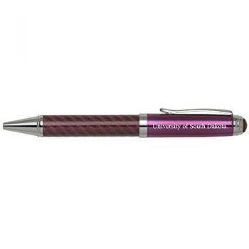 University of South Dakota -Carbon Fiber Mechanical Pencil-Pink