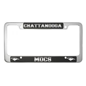 University of Tennessee at Chattanooga-Metal License Plate Frame-Black