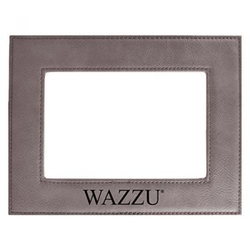 Washington State University-Velour Picture Frame 4x6-Grey
