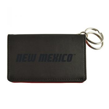 Velour ID Holder-The University of New Mexico-Black