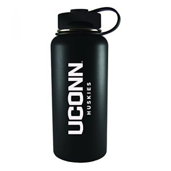 University of Connecticut-32 oz. Travel Tumbler-Black