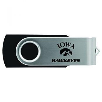 University of Iowa-8GB 2.0 USB Flash Drive-Black
