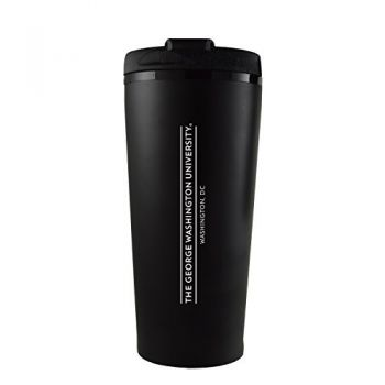 George Washington University -16 oz. Travel Mug Tumbler-Black