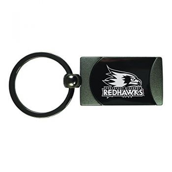 Southeast Missouri State University -Two-Toned gunmetal Key Tag-Gunmetal