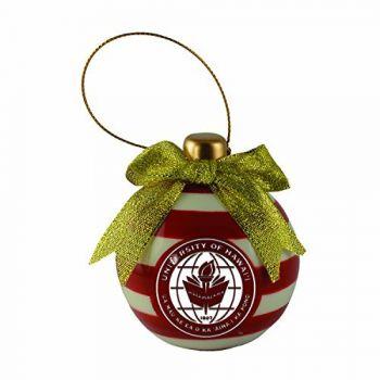 The University of Hawai'i-Christmas Bulb Ornament