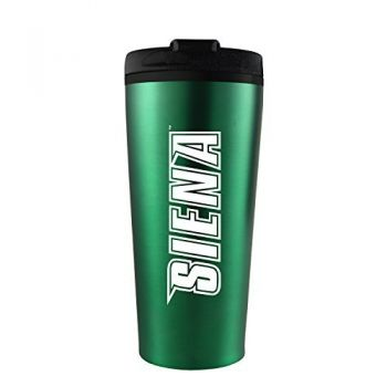 Siena College-16 oz. Travel Mug Tumbler-Green