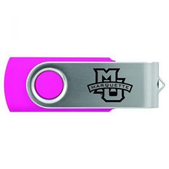 Marquette University-8GB 2.0 USB Flash Drive-Pink