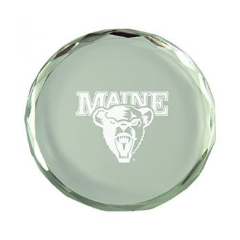 University of Maine-Crystal Paper Weight