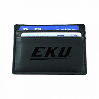 Eastern Kentucky University-European Money Clip Wallet-Black