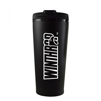 Winthrop University -16 oz. Travel Mug Tumbler-Black
