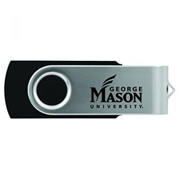 George Mason University -8GB 2.0 USB Flash Drive-Black