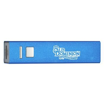 Old Dominion University - Portable Cell Phone 2600 mAh Power Bank Charger - Blue