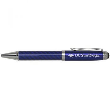 University of California, San Diego-Carbon Fiber Mechanical Pencil-Blue