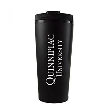 Quinnipiac University -16 oz. Travel Mug Tumbler-Black