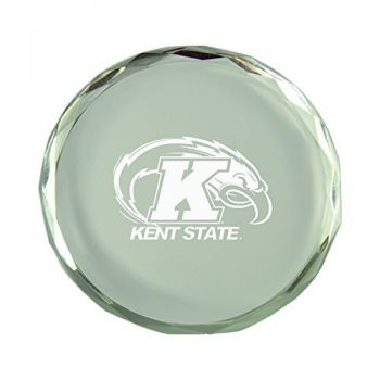 Kent State University-Crystal Paper Weight