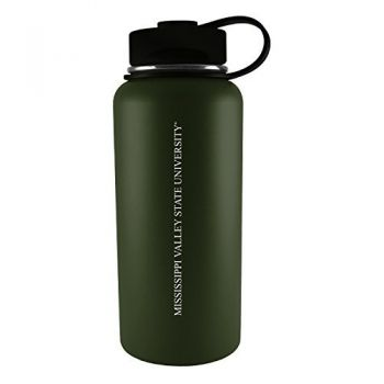 Mississippi Valley State University -32 oz. Travel Tumbler-Gun Metal