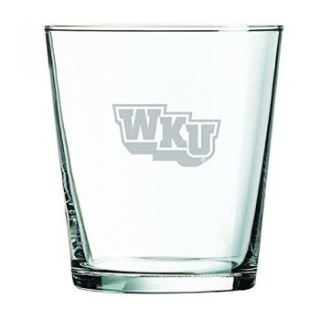 Western Kentucky University -13 oz. Rocks Glass