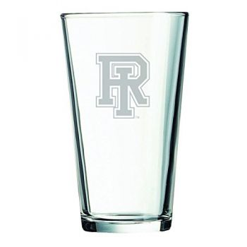 The University of Rhode Island -16 oz. Pint Glass
