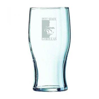 Pittsburg State University-Irish Pub Glass