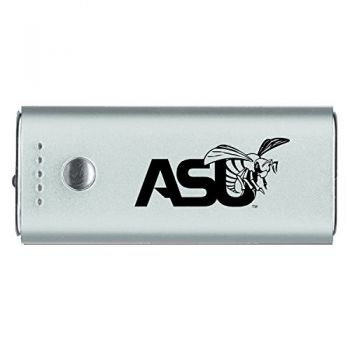 Alabama State University -Portable Cell Phone 5200 mAh Power Bank Charger -Silver
