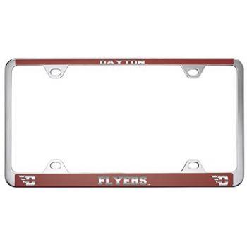 University of Dayton -Metal License Plate Frame-Red