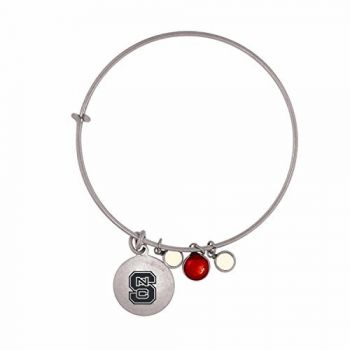 North Carolina State University-Frankie Tyler Charmed Bracelet