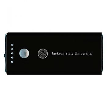 Jackson State University-Portable Cell Phone 5200 mAh Power Bank Charger -Black
