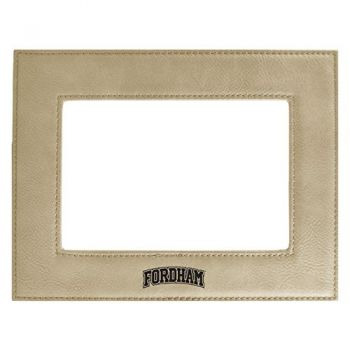 Fordham University-Velour Picture Frame 4x6-Tan