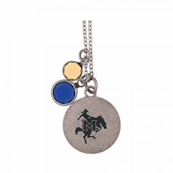 McNeese State University-Frankie Tyler by LXG Charmed Necklace
