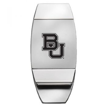 Baylor University - Two-Toned Money Clip