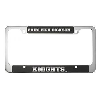 Fairleigh Dickinson University -Metal License Plate Frame-Black