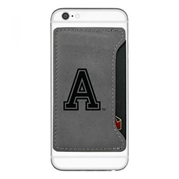 United States Military Academy-Cell Phone Card Holder-Grey