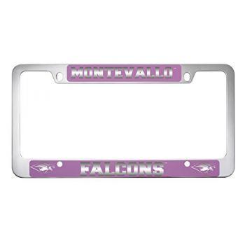 University of Montevallo-Metal License Plate Frame-Pink