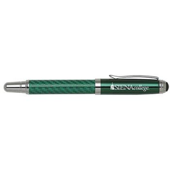 Siena College - Carbon Fiber Rollerball Pen - Green