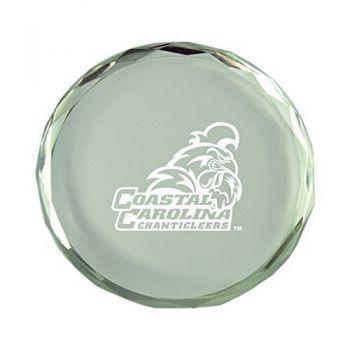 Coastal Carolina University-Crystal Paper Weight
