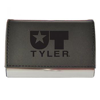 Velour Business Cardholder-University of Texas at Tyler-Black
