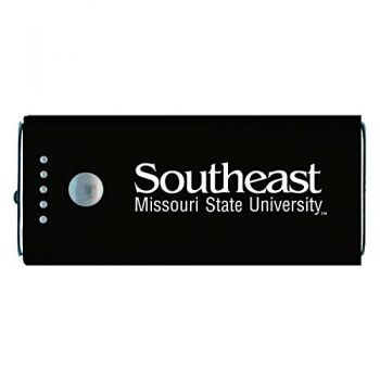 Southeast Missouri State University -Portable Cell Phone 5200 mAh Power Bank Charger -Black