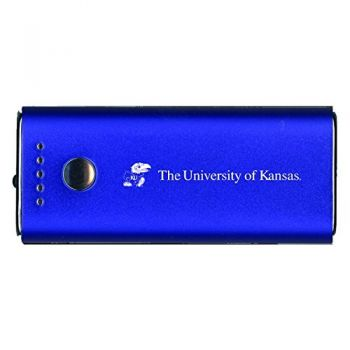 The University of Kansas-Portable Cell Phone 5200 mAh Power Bank Charger -Blue