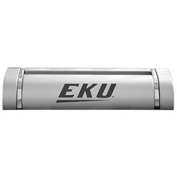 Eastern Kentucky University-Desk Business Card Holder -Silver