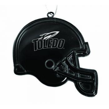 University of Toledo - Chirstmas Holiday Football Helmet Ornament - Black