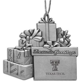 Texas Tech University - Pewter Gift Package Ornament