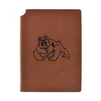 Fresno State Velour Journal with Pen Holder|Carbon Etched|Officially Licensed Collegiate Journal|