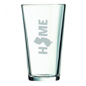 16 oz Pint Glass  - New Jersey Home Themed - New Jersey Home Themed