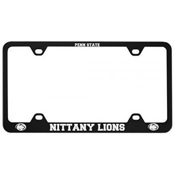 The Pennsylvania State University -Metal License Plate Frame-Black