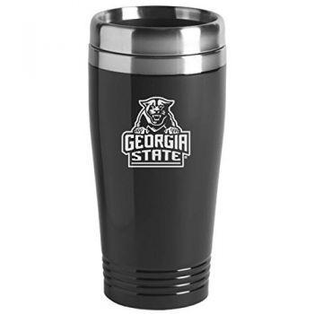 Georgia State University - 16-ounce Travel Mug Tumbler - Black