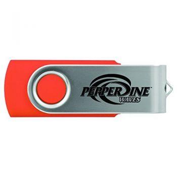 Pepperdine university -8GB 2.0 USB Flash Drive-Orange