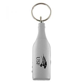 University of Saint Francis-Fort Wayne-Wine Shaped Bottle Opener-Silver