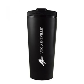 University of North Carolina at Asheville-16 oz. Travel Mug Tumbler-Black
