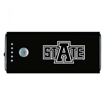 Arkansas State University -Portable Cell Phone 5200 mAh Power Bank Charger -Black